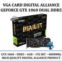 VGA Card Digital Alliance GeForce GTX 1060 Dual6GB DDR5 - Original