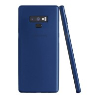 ASENARU Samsung Galaxy Note 9 - Super Slim Signature Case Navy Blue