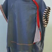 Harga oline workrobe sided raglan top like blue f | Pembandingharga.com