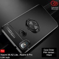 Calandiva Ultimate Ring Case Xiaomi Mi A2 Lite, Redmi 6 Pro 5.84 Inch