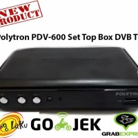 Polytron PDV-600 Set Top Box DVB T2 Receiver Tv Digital