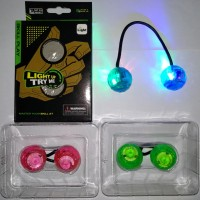 finger balls yoyo jari bola unik lucu nyala lampu led hadiah anak gift