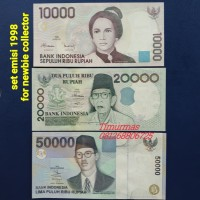 Set Uang Lama Kuno emisi 1998 for newbie collector grade UNC