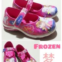 sepatu anak perempuan Frozen KABOCHA pink