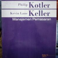 Buku Manajemen Pemasaran Kotler Keller jilid 2