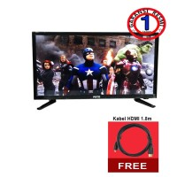 Mito Led Tv 24inch 2461 Free Kabel HDMI