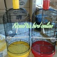 Kandang burung Lovebird Ebod jaya tebok Plastik