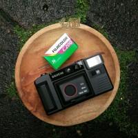 Daiichi AE II bonus Fuji C200 Kamera Saku Analog Film