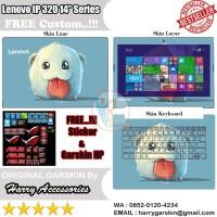 jual Original Garskin Laptop Full Body Lenovo Ideapad 320 14 inch