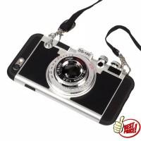 Casing HP Unik 3D Camera Softcase Iphone 5 5s se 6 6s 6 Plus 7 8 7