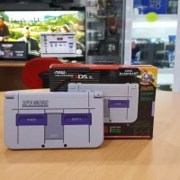 Jual Console New 3DS-XL Super Nintendo Edition+SuperMarioKart Full Download Murah