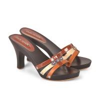 HDH 501 Sandal wedges heels flat wanita java cibaduyut distro
