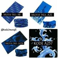 Murah Buff Motif Blue Fire (bandana serbaguna/slayer/masker/headband
