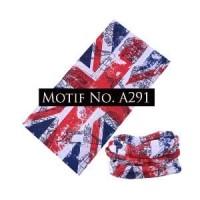 Promo Buff Bendera Inggris/England A291 (Bandana Masker Serbaguna)