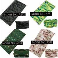 Jual Buff Motif Army Pixel (bandana serbaguna/masker/kupluk/headwea