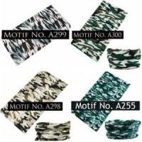 Buff Motif Tentara/Army 2 (bandana serbaguna/masker/kupluk/sla