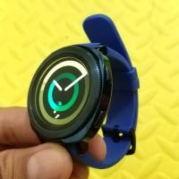 Smartwatch Samsung Gear Sport Biru (Second)