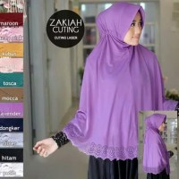 Hijab Eifel Laser Jumbo/Hijab Jumbo