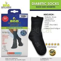 ECO SILVER Kaos Kaki Diabetes Socks Silver Anti Luka + Bau
