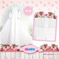 Gamis Couple Cutetrik size 8 10 12   Dress Muslim Anak   Gamis Anak