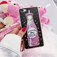 Glitter motif case VIVO V9 V7 V5 Y71 Y53 plus Samsung S7 Edge Note8 s9