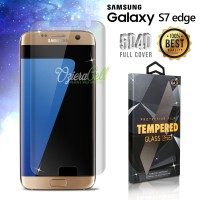 Tempered Glass Samsung S7 Edge 3D Full Clear Cover - Premium Glass Pro