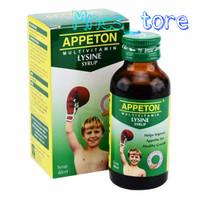 APPETON LYSINE SYRUP MULTIVITAMIN ANAK 60 ML ORIGINAL - APETON