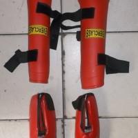 leg protector/protektor/guard atau pelindung kaki beladiri