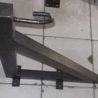 maks. beban 100 kg, gantungan bracket samsak /sansak utk tembok