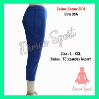 Celana Senam Polos 3/4 | Olahraga | Fitness | Gym | Zumba | Dimen Shop