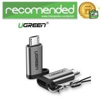 UGREEN Micro USB to USB Type C Adapter Converter - US282 - Gray