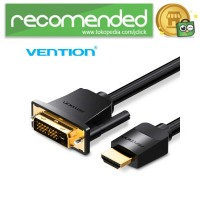Vention Kabel Video Adapter HDMI to DVI 24 1 1080P - Hitam - 5M