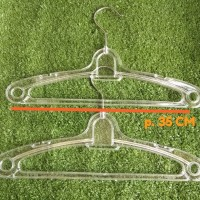Hanger Plastik Kristal Anak/ Gantungan Baju Anak Kristal