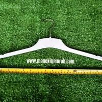 Gantungan Baju/Hanger Plastik/Hanger Murah/Hanger Putih