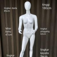 Manekin Full Body Wanita Fiber glass/Patung Full Body Wanita