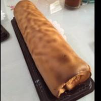 Bolu gulung / Roltart / Rol cake - Keju
