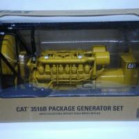 Miniatur Genset Cat 3516B Diecast Generator Set