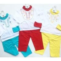 Pakaian Anak Lucu Motif Murah Baju Aqiqah Koko Bayi Newborn All Size