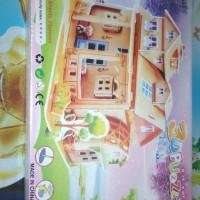 3D Puzzle (Mainan edukasi) Mengasah otak, mengasah keterampilan anak