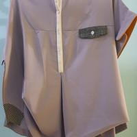 Harga oline workrobe assymetrical shirt purple | Pembandingharga.com