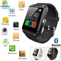 EGY Smartwatch Bluetooth Warna Hitam untuk iPhone / Samsung / iOS /