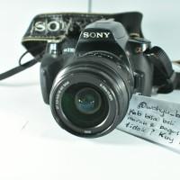 DSLR Sony A230 Murah Meriah Mantaf Bukan Canon 1200D Nikon D90