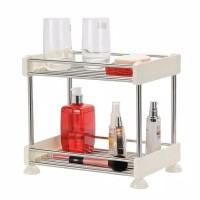 Rak 2 susun serbaguna untuk dapur/toilet/meja rias