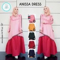 Gamis / Dress Anissa by Zie (5 warna)