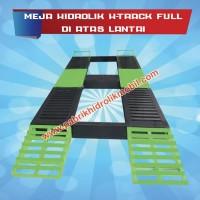 Meja hidrolik cuci mobil type h diatas lantai, gratis instalasi di DKI