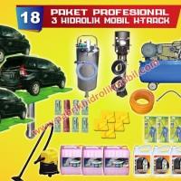 Paket usaha cuci mobil 3 hidrolik cuci mobil type h garansi 2 tahun