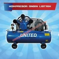 Kompresor angin listrik 2 pk merek united