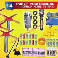 paket usaha cuci mobil 4 hidrolik mobil type x murah garansi pabrik
