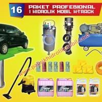 Paket usaha cuci mobil 1 hidrolik cuci mobil type h, bergaransi
