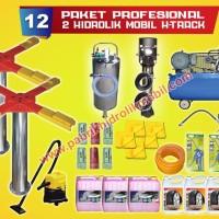 paket usaha cuci mobil 2 hidrolik mobil type x murah, garansi pabrik